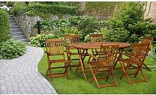 6-Sitzer-Gartengarnitur Ramino Garten Living