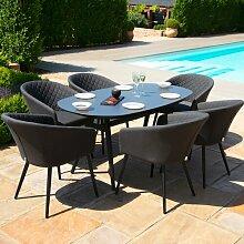 6-Sitzer Gartengarnitur Sladkowski Ebern Designs