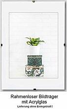 6 Stück Clippo Rahmenlose Bildhalter Posterrahmen