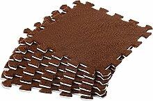 6 Stück Flanell Weicher Boden Kinder Spielmatte
