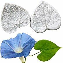 6Stück Ginkgo Blätter Silikon Form,