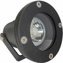 6 Stück IP68 MCOB LED Boden Einbaustrahler Milan