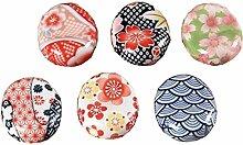 6 Stück japanische Stil Porzellan Messer Ständer