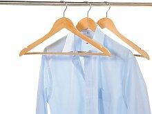6 Stück Kesper Formkleiderbügel, Garderobenbügel, Kleiderbügel, mit rutschhemmenden Hosensteg, (2 x 3er Pack), Breite: 450 mm