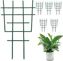 6 Stück Kunststoff-Garten-Rankhilfen,