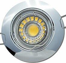 6 Stück MCOB LED Einbaustrahler Fabian 12 Volt 5