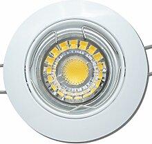 6 Stück MCOB LED Einbaustrahler Fabian 230 Volt 7
