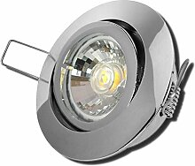 6 Stück MCOB LED Einbaustrahler Laura 12 Volt 5