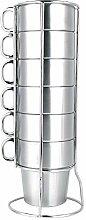 6 Stück/Sets Tassen Wasserbecher für