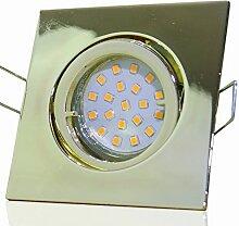 6 Stück SMD LED Einbaustrahler Luisa 12 Volt 3