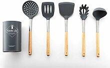 6 Stücke antihaft Küche Werkzeuge Silikon