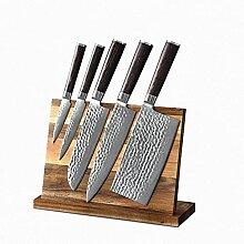 6 stücke professionelle damaskus stahlhammer