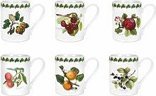 6-tlg. Kaffeebecher-Set Pomona