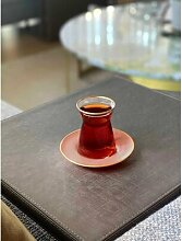 6-tlg. Teeglas/Kaffeeglas-Set Andre