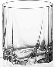6-tlg. Whiskyglas-Set Luna
