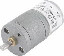 6VDC 20rpm Output Speed Permanent Magnetismus Elektrische Geared Motor