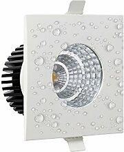 6 watt IP65 Wasserfest LED Spot Einbaustrahler