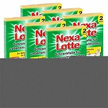 6 x 2 (12 Stk.) Nexa Lotte Schrankfalle für