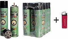 6 x 300ml Premium Feuerzeuggas Nachfüllgas