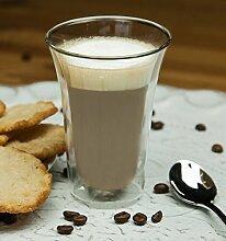 6 x Doppelwandige Gläser Teetasse Cappuccino espresso Cappucciontassen Glas Becher Kaffeetasse 160 ml