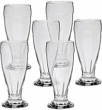 6 x Eisschale Set Dessertschale Eisbecher Glas