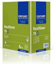 6 x Erfurt Rauhfaser 70 Superkorn weiß