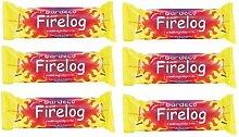 6x Gardeco Rauchfreie Kraftstoff Firelog