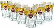 6 x Havana Club Rum Limited Edition Tumbler Glas