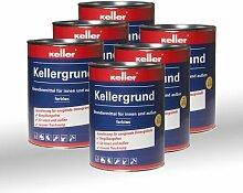 6 x Jaeger Kellergrund klar 580 0,75l