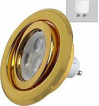 6 x LED Einbaustrahler 5 Watt 400 Lumen GU10