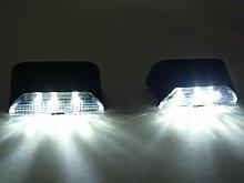 6 x LED Solar-Zaunleuchten Treppenleuchte Pan