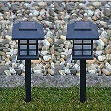 6 x LED Solarlampe Gartenbeleuchtung