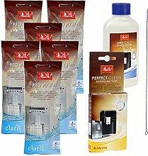 6 x MELITTA PRO AQUA Wasserfilter + MELITTA ANTI