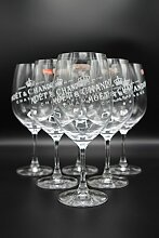6 x Moët & Chandon Ice Champagner Ballon Glas