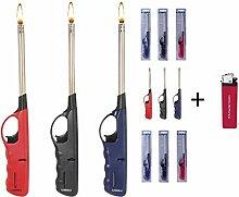 6 x Stabfeuerzeug 27 cm -V- Feuerzeug BBQ