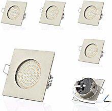 6 x SW-68N Sweet led® Flache LED Einbaustrahler |