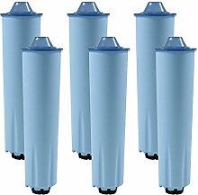 6 x Wasserfilter-Patrone für Kaffeevollautomaten