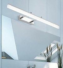 60 * 5.5CM Chrom Modern LED Spiegelleuchte bad
