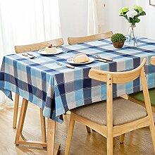 60* 60cm Blau Checker skandinavischen