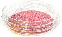 60/90/120 cm Rundes Rosa Aufblasbares Schwimmbad