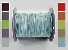 60 meter Plisseeschnur 0.8mm Türkis | Schnur Spannschnur für Plissees Rollos Jalousien | 15 FARBEN!!