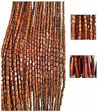 60 Stränge Perlenvorhang Retro Holztürvorhänge