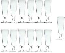 60 stücke 150ml Einwegharte Kunststoff Glas