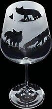 600 ml Gin Glas Aspect Fox Dartington Crystal