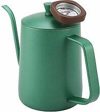 600ml Edelstahl Kaffeekessel Schwanenhals Auslauf