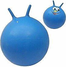 60cm Junior Hüpfball - Halt Bis Zu 100 kg - Blau
