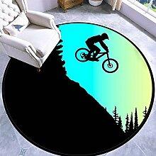 60CM Runder Teppich Teppich Spielmatte