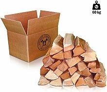 60kg (2x30kg) Kaminholz Brennholz 33cm 100% reine