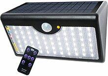 60LED Solar Energiesparende Außenleuchte kaltweis