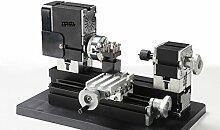 60w 12000rpm High Power Miniatur Metall Drehbank TZ20002MG,Schnitzkunst Modell, DIY Werkzeuge, Geschenk der Kinder Studen